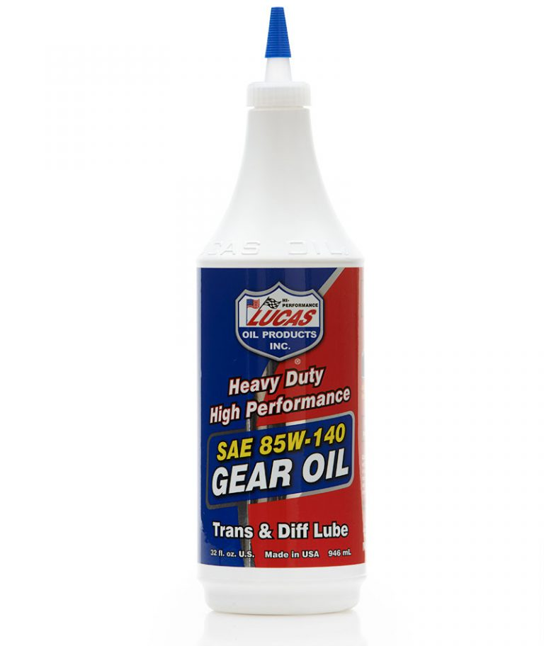 Olio Heavy Duty  SAE 85W 140 Trasmissioni e Differenziali Lucas Oil Lubrificanti
