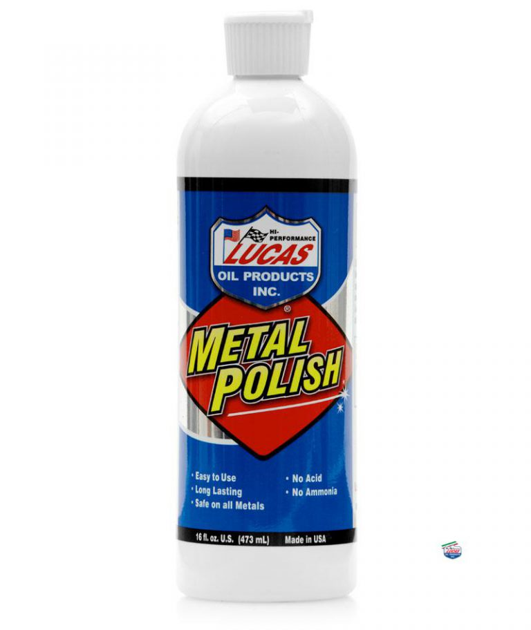 Lucidatore Cromature e Metalli Polish Lucas Oil Lubrificanti
